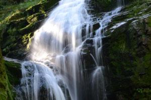 Wodospad Kamieńczyka zbliżenie na jedną z kaskad