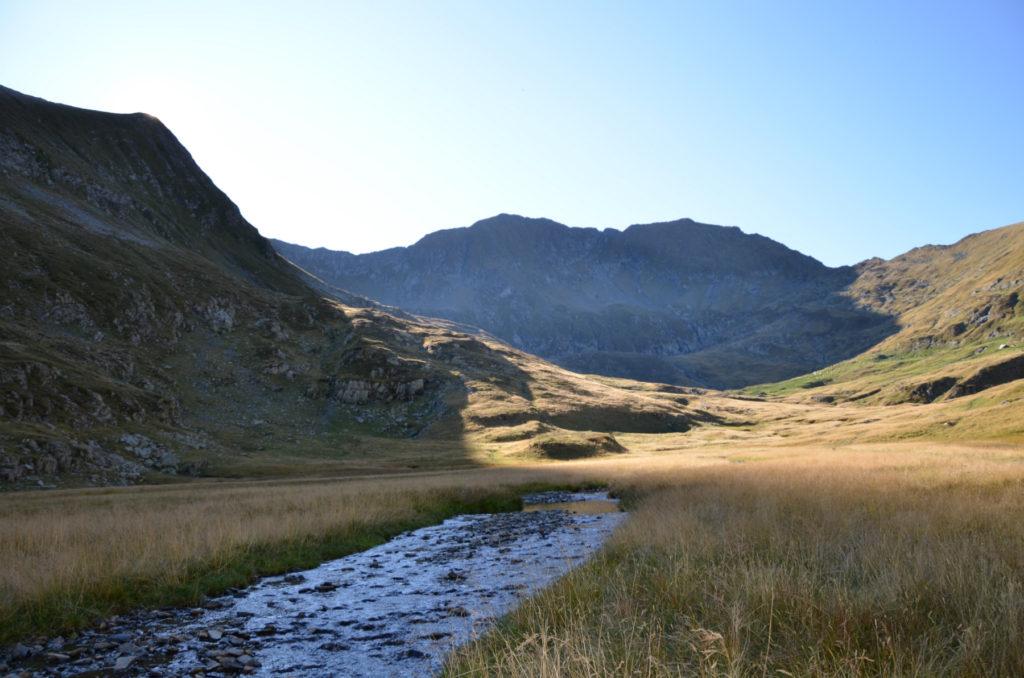 Moldoveanu - widok z doliny
