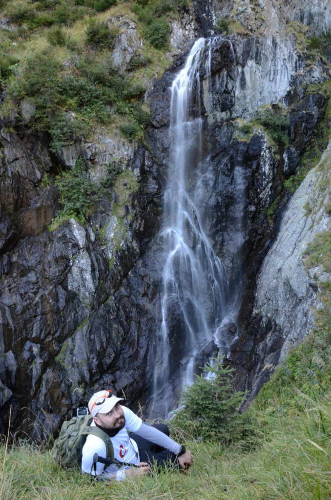 Moldoveanu - wodospad Vaii Rele