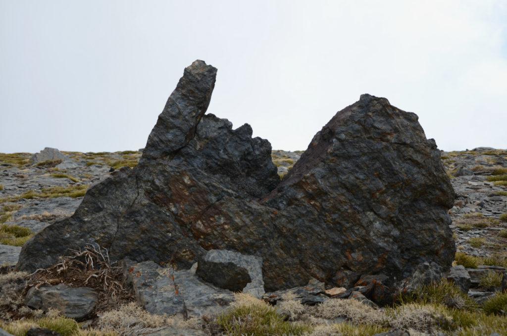 Mulhacén - skalne rzeźby