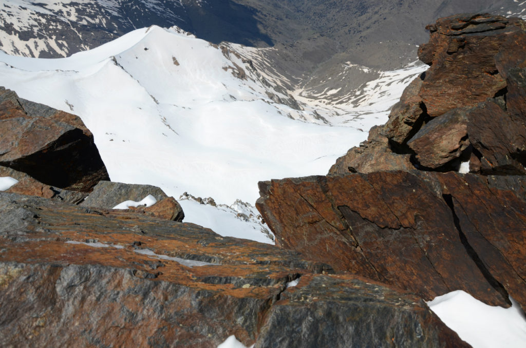 Mulhacén - widok ze szczytu
