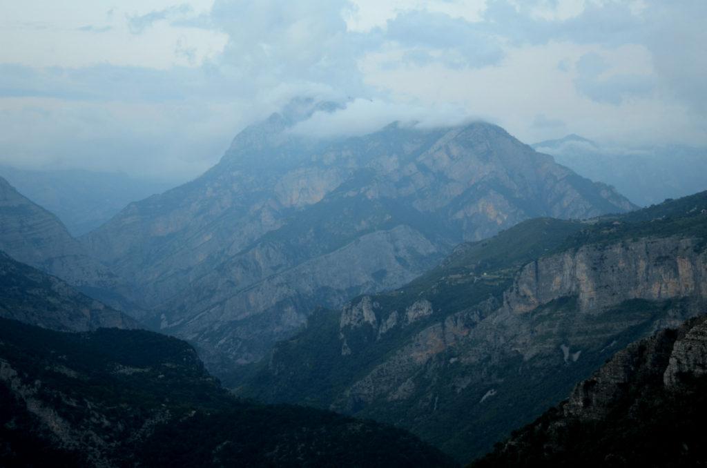 Droga SH20 - Albania - punkt widokowy