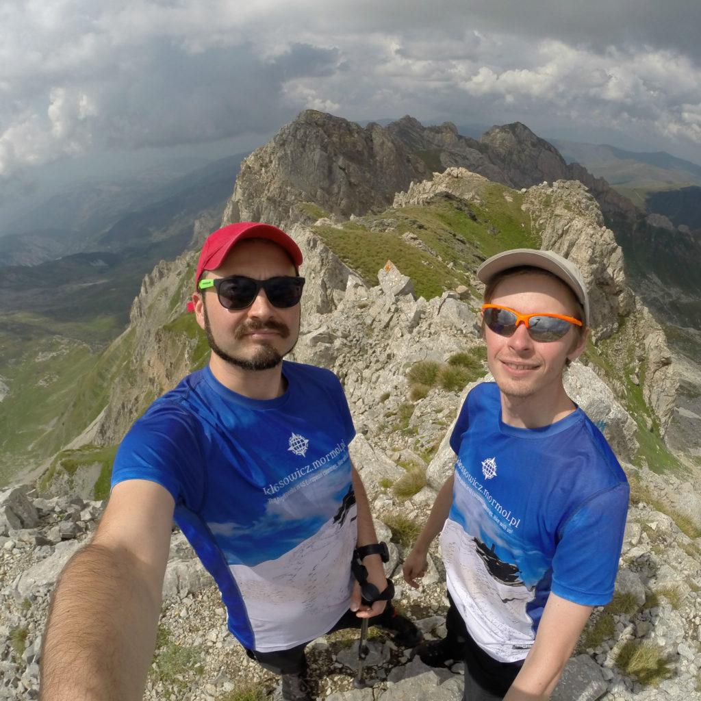 Korab - najwyższy szczyt Albanii i Macedonii
