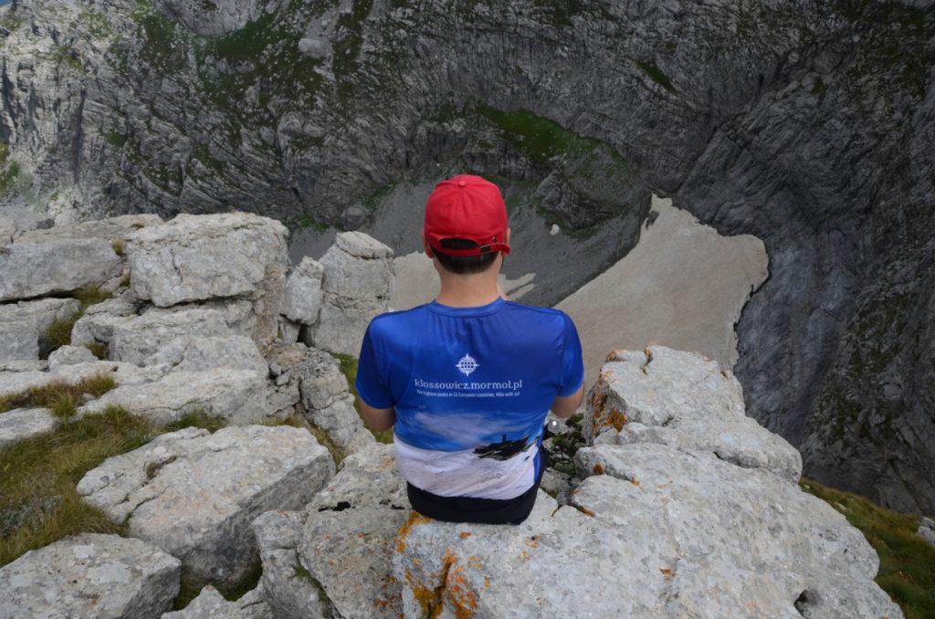 Przełęcz między Kolatami - widok w kierunku północno-wschodnim