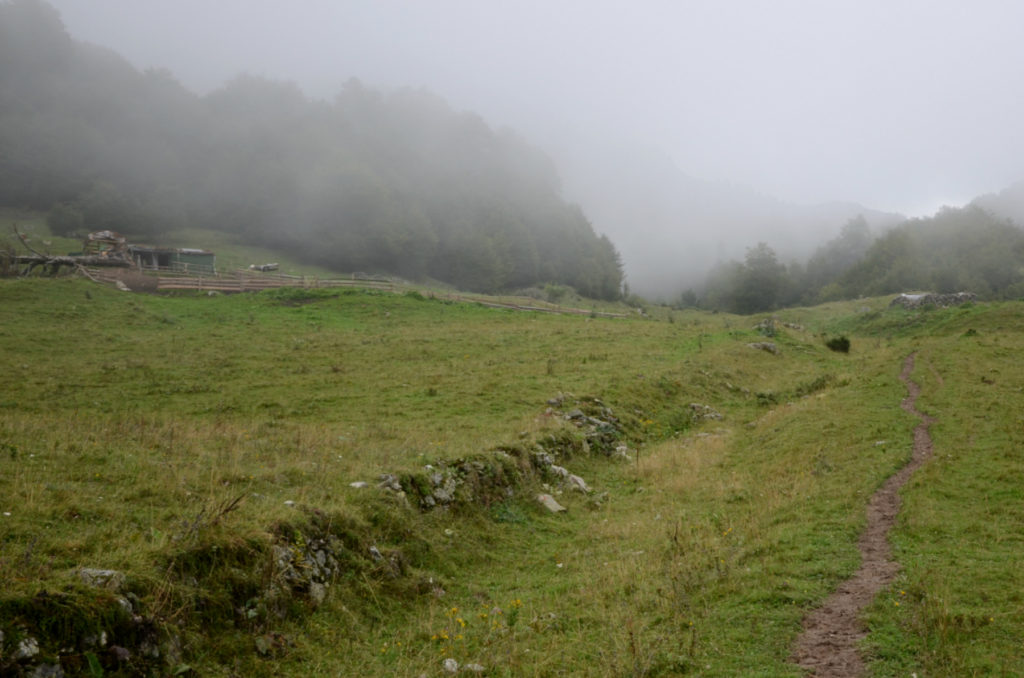 Zla Kolata - Polana z Chatka pasterska