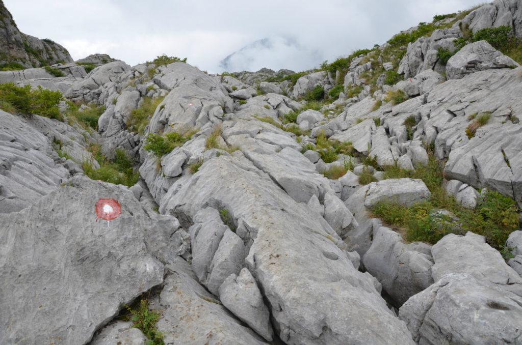 Zla Kolata - szlak po kamieniach
