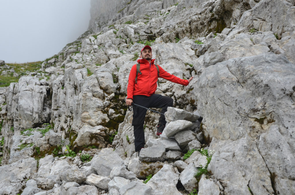Zla Kolata - wspinaczka po skalach