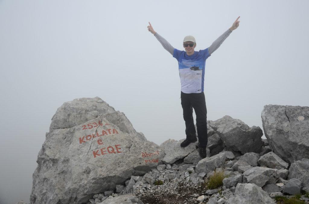 Zla Kolata - zdjęcie ze zdobycia szczytu