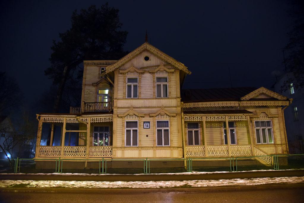 Drewniany pensjonat - Druskienniki