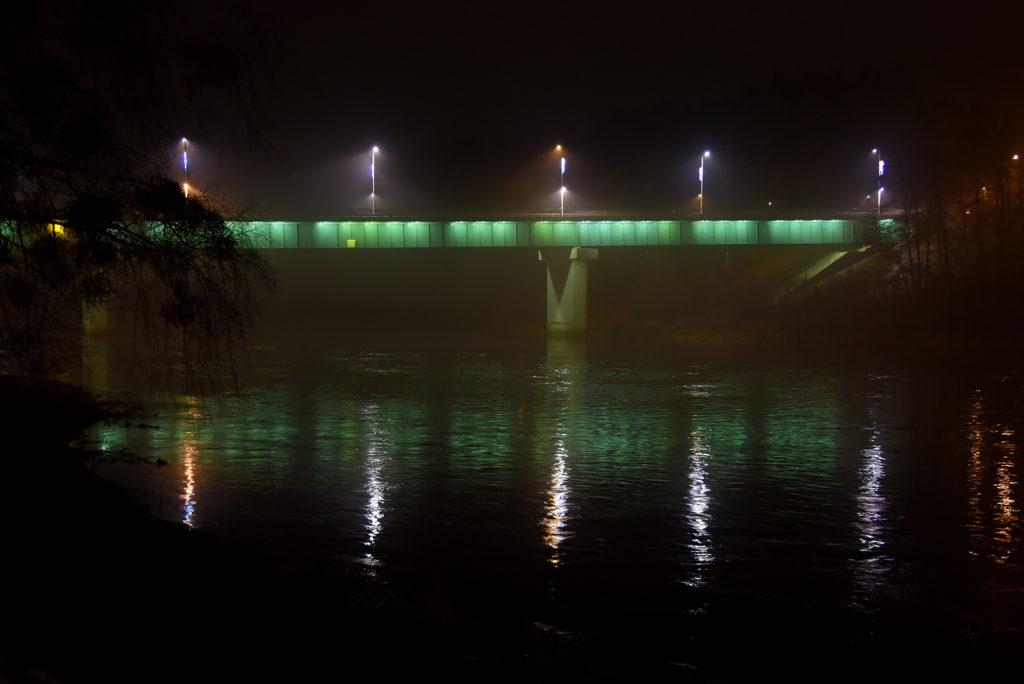 Druskienniki - most nad Niemnem