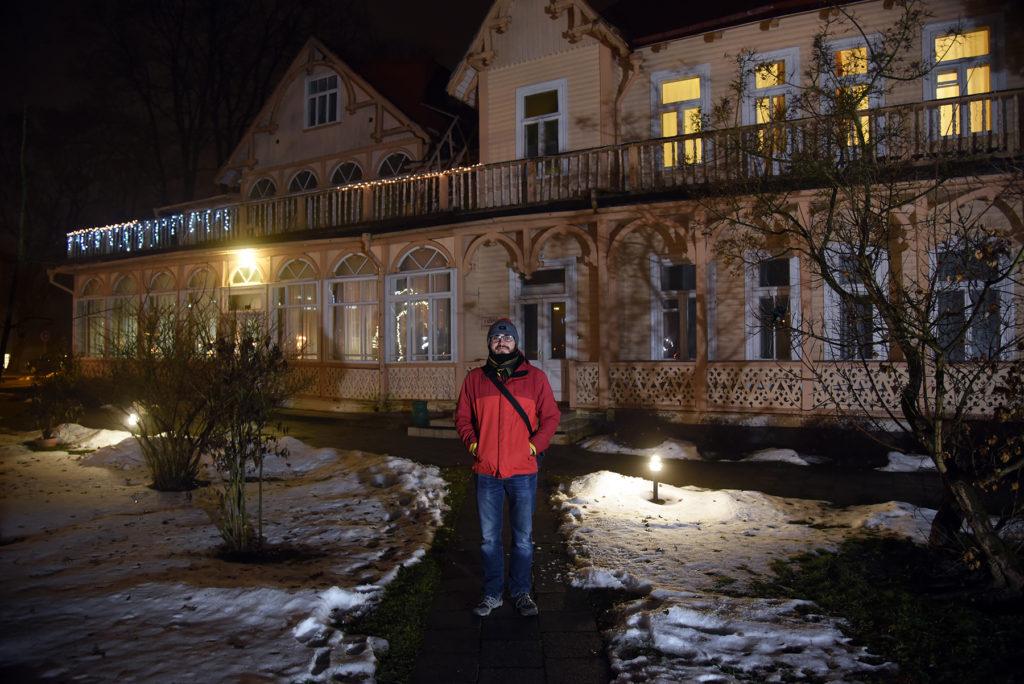 Hotel Dainava - drewniany pensjonat