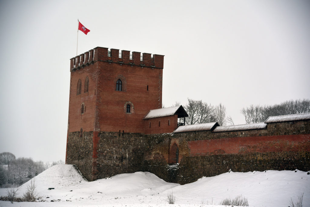 Miedniki Królewskie - ruiny zamku