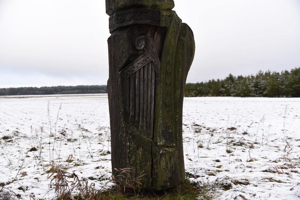 Pomnik litewskiego folkloru - instrument muzyczny