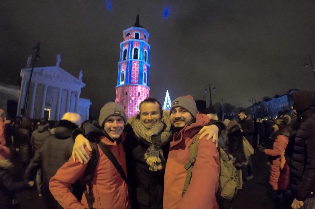 Sylwester w Wilnie 2019