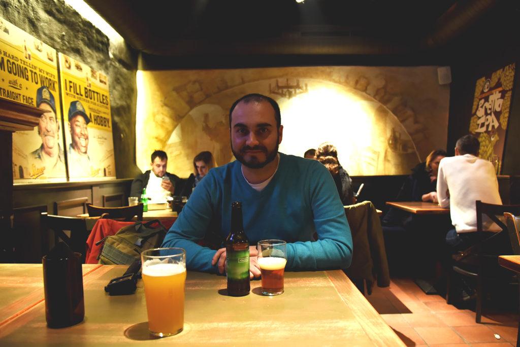 Wilno Craft & Draft - wnętrze baru