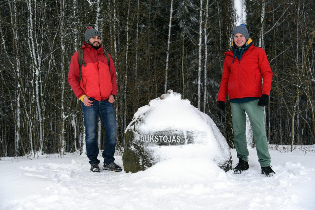 Aukštojas - przy kamieniu narzutowym