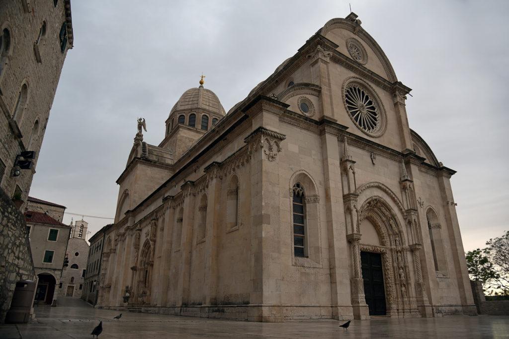 Szybenik - Katedra o poranku