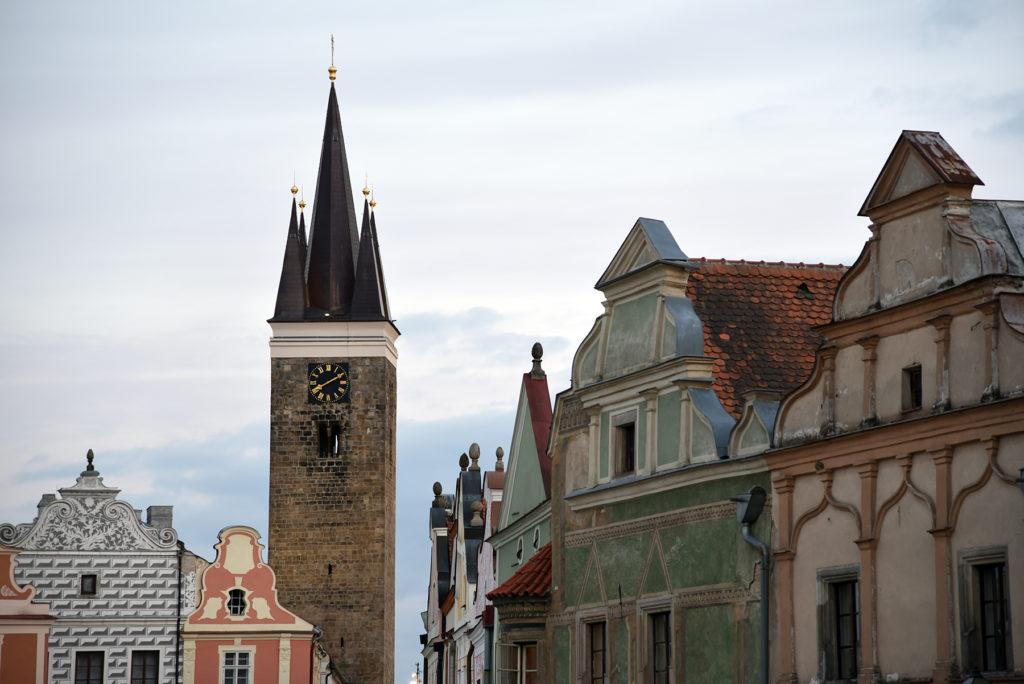 Telcz - wieża kościoła św. Ducha