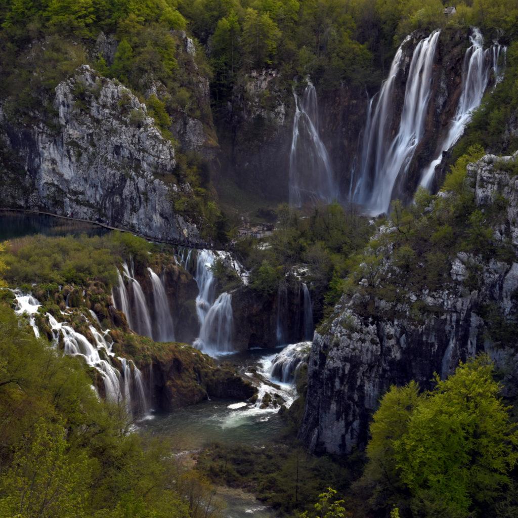 Plitwickie Jeziora - wodospady