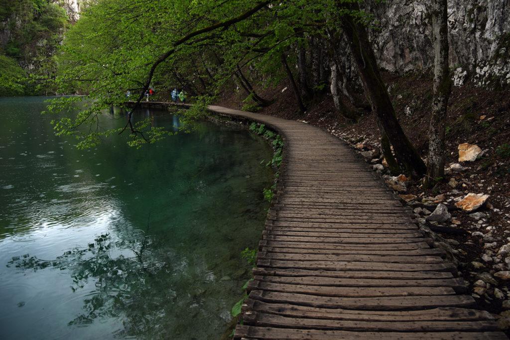 Plitwickie Jeziora - ścieżka wokół jeziora Gavanovac