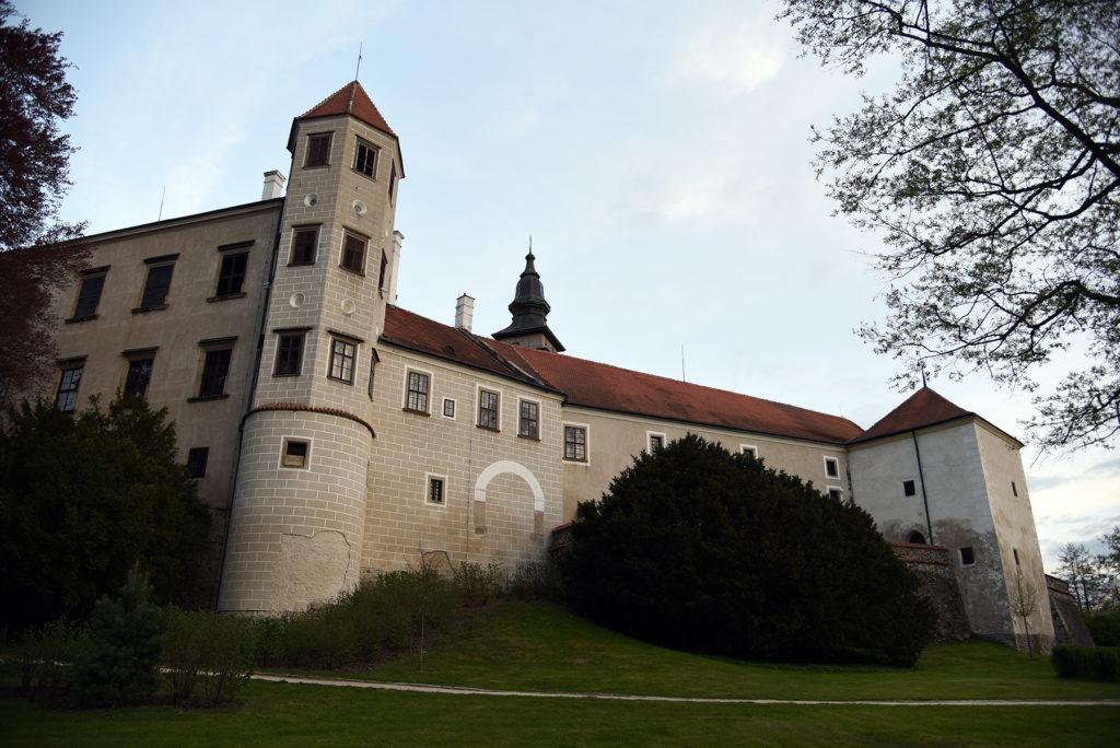 Telcz - zamek od strony ogrodów