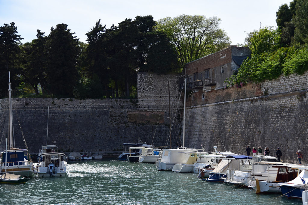 Zadar - mury obronne - Marina