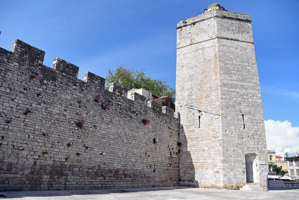 Zadar - mury obronne - wieża