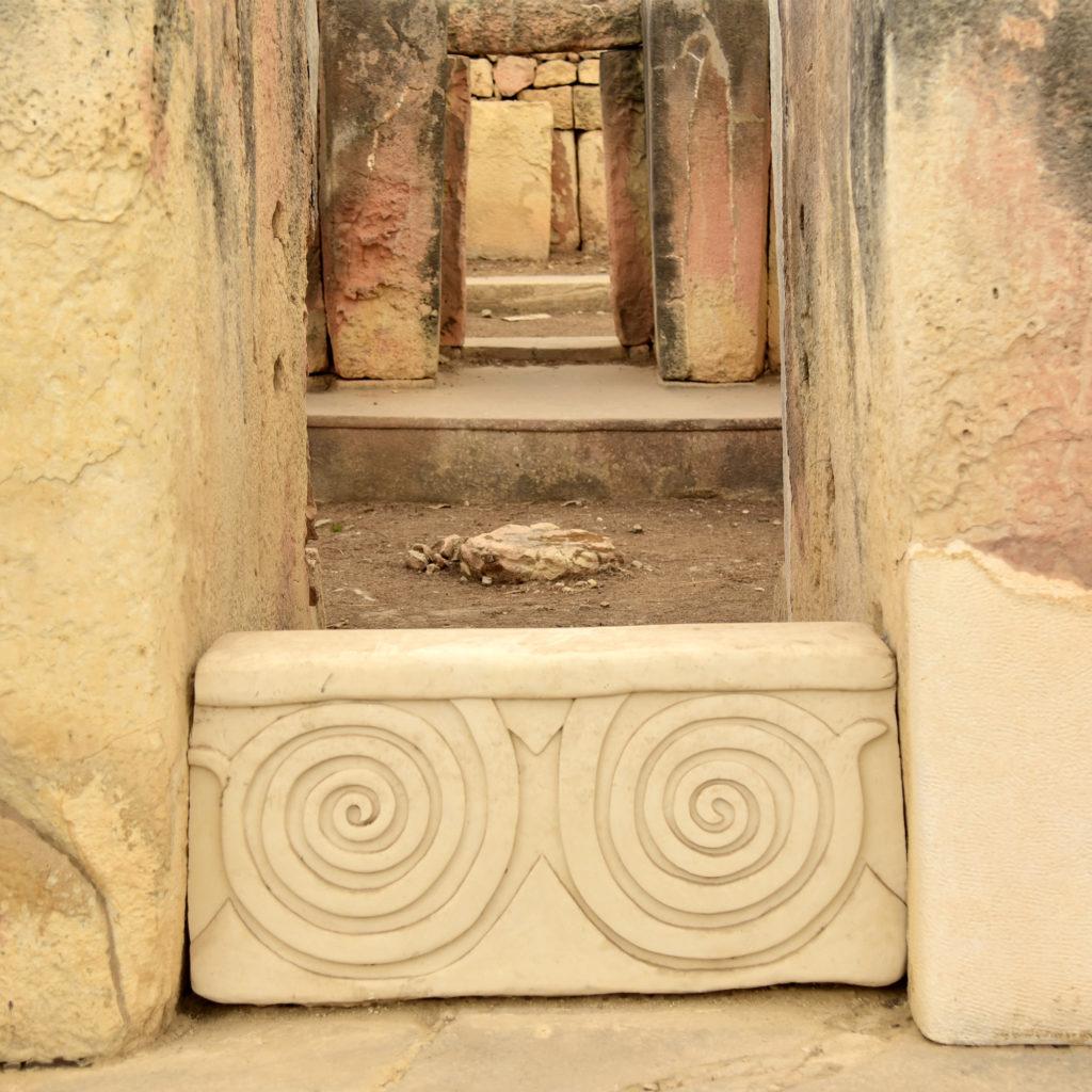 Świątynie Tarxien - trylit