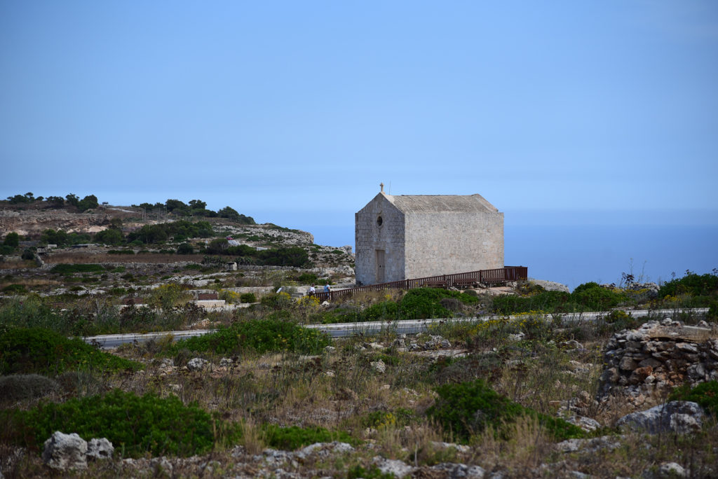 Klify Dingli - kaplica Świętej Marii Magdaleny