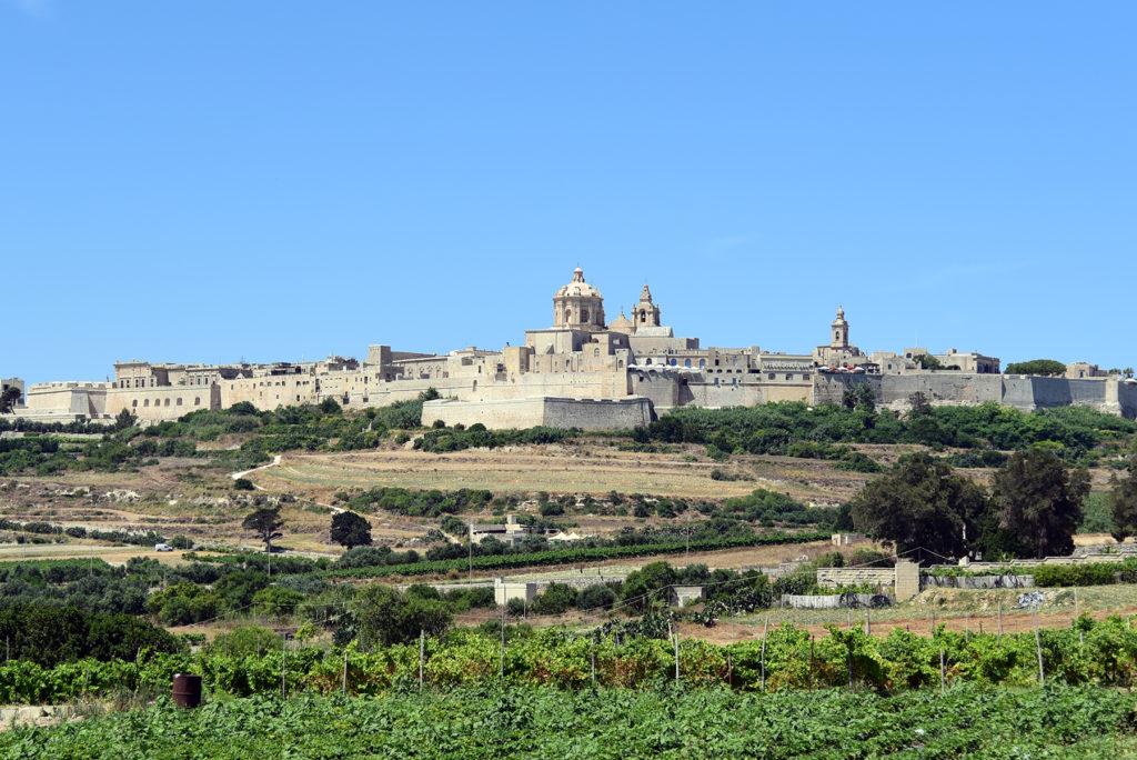 Mdina - widok na Stare Miasto