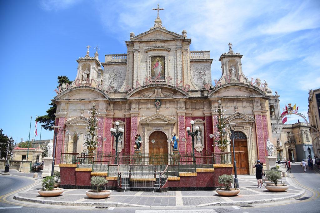 Rabat - Kościół Świętego Pawła