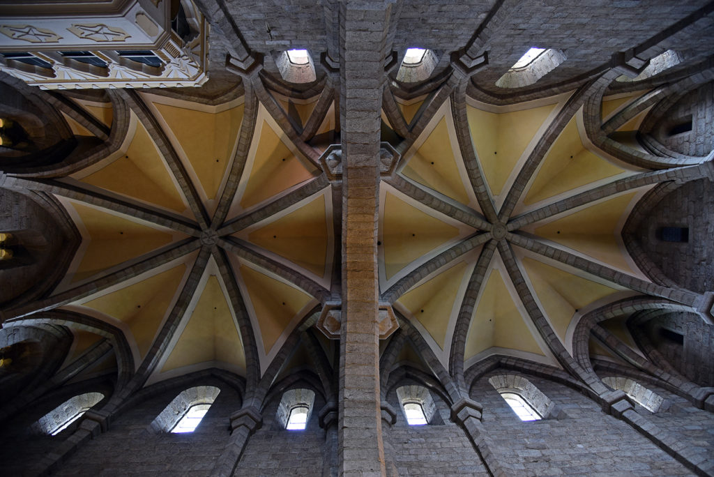 Třebíč - Bazylika św. Prokopa - sufit w Prezbiterium