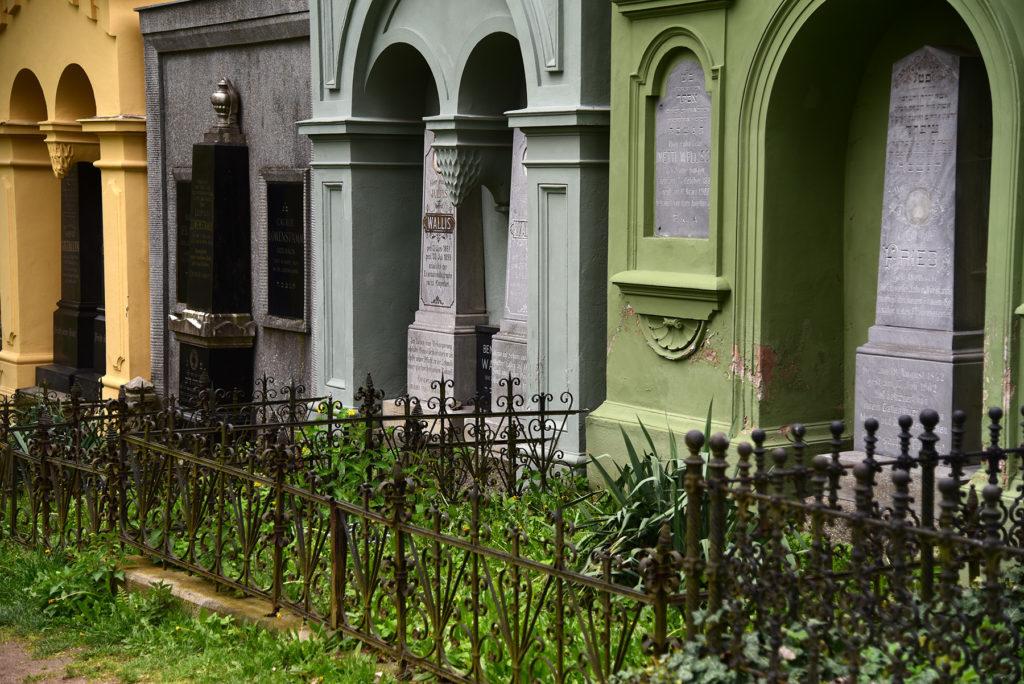 Třebíč - Cmentarz Żydowski - grobowce