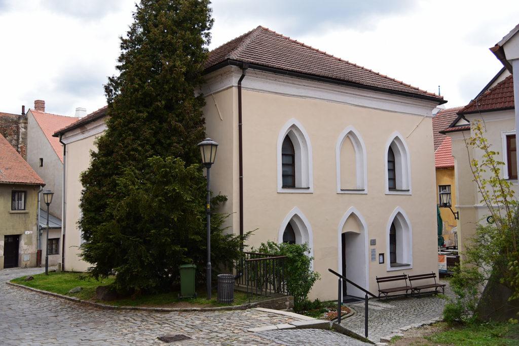 Třebíč - Dzielnica Żydowska - Przednia Synagoga