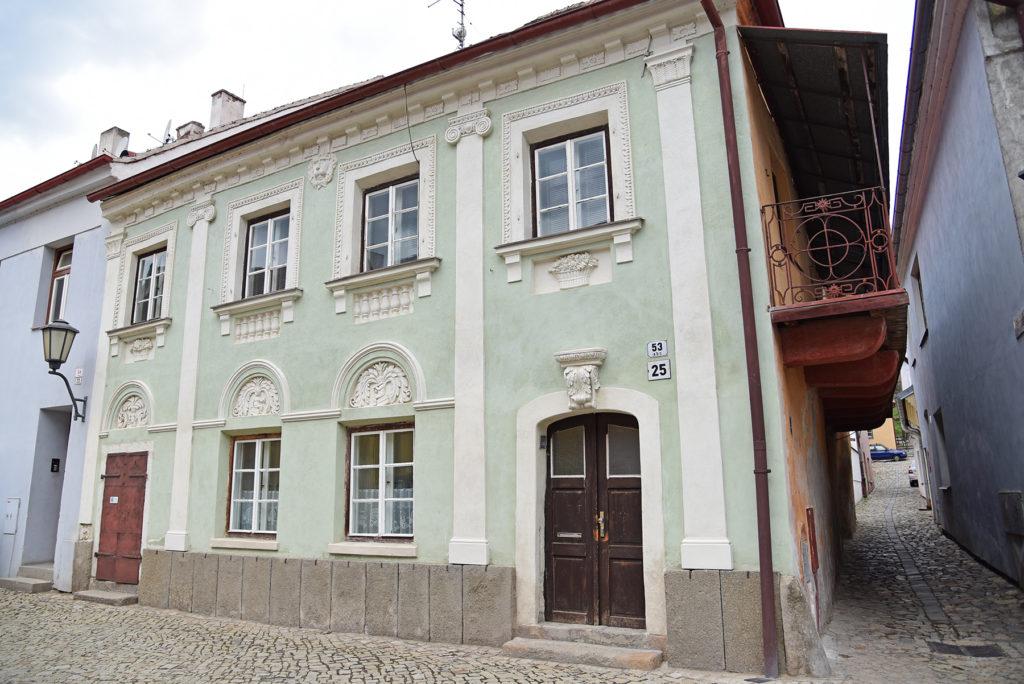 Třebíč - Dzielnica Żydowska - budynek dawnej szkoły