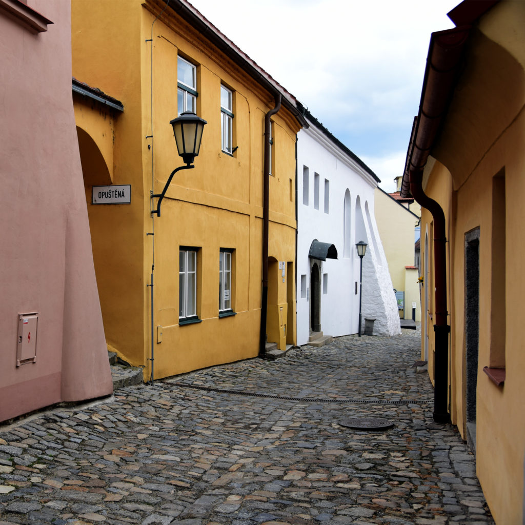 Třebíč - Dzielnica Żydowska