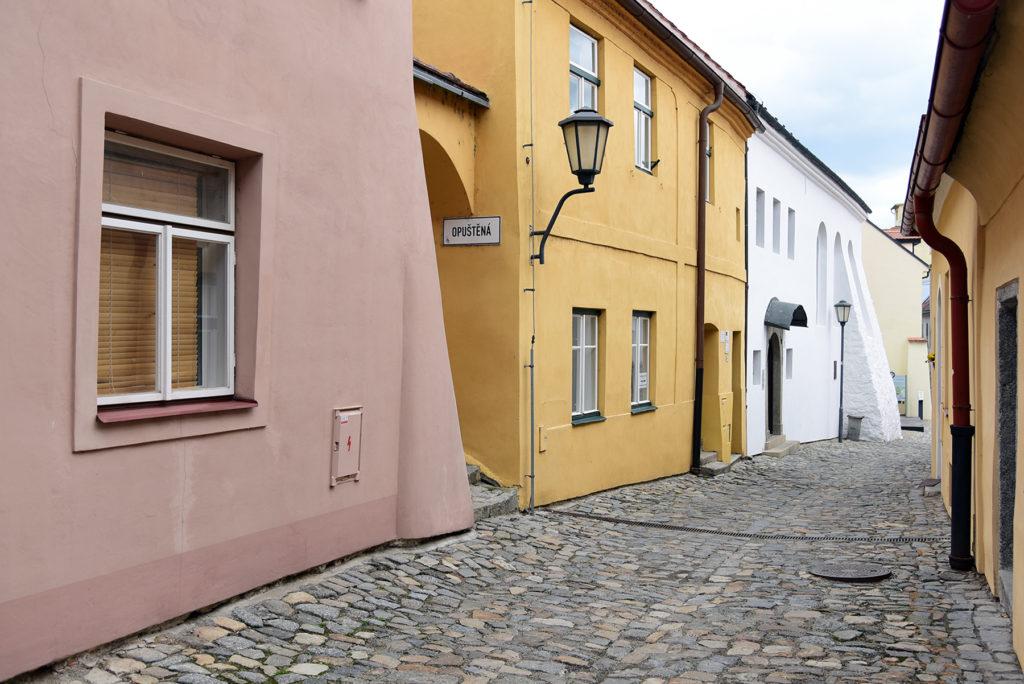 Třebíč - Dzielnica Żydowska - ulica Blahoslavova