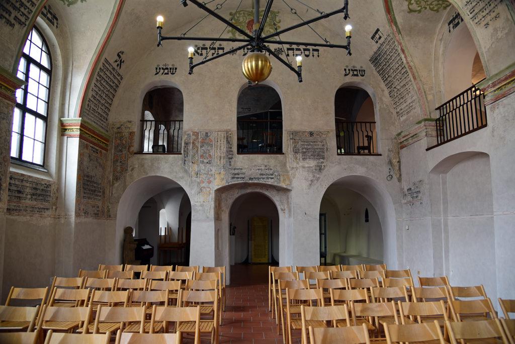Třebíč - Dzielnica Żydowska - wnętrze Tylnej Synagogi