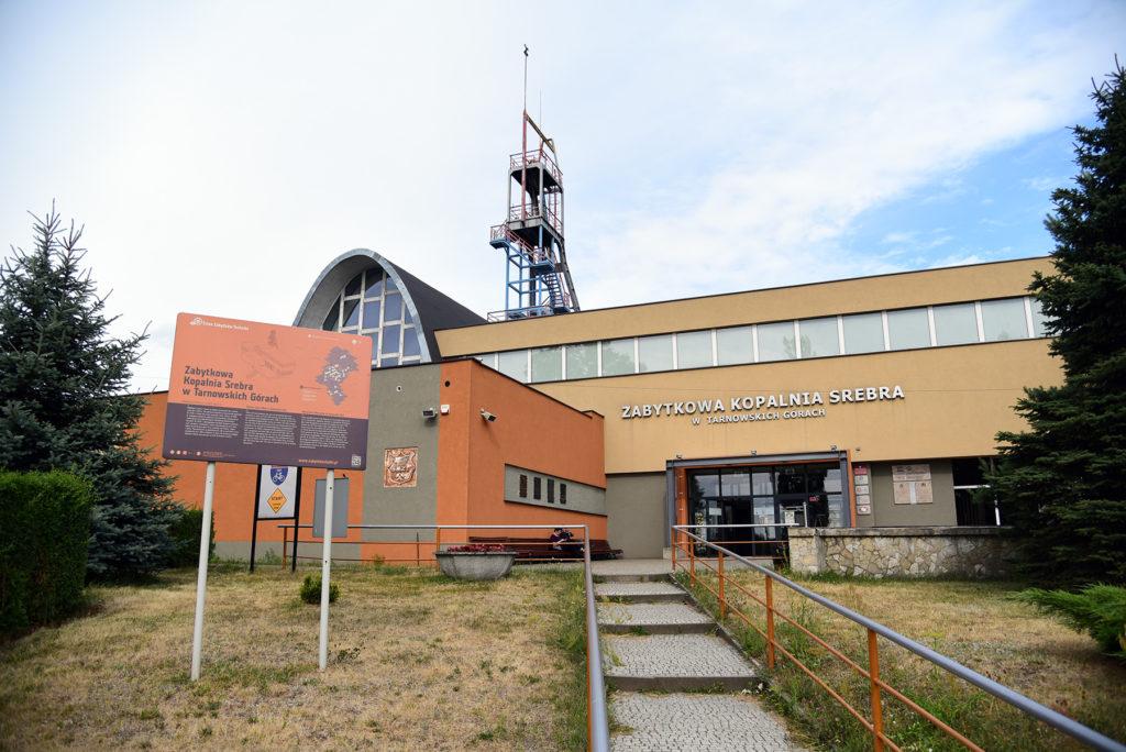 Kopalnia Srebra - budynek zewnętrzny muzeum