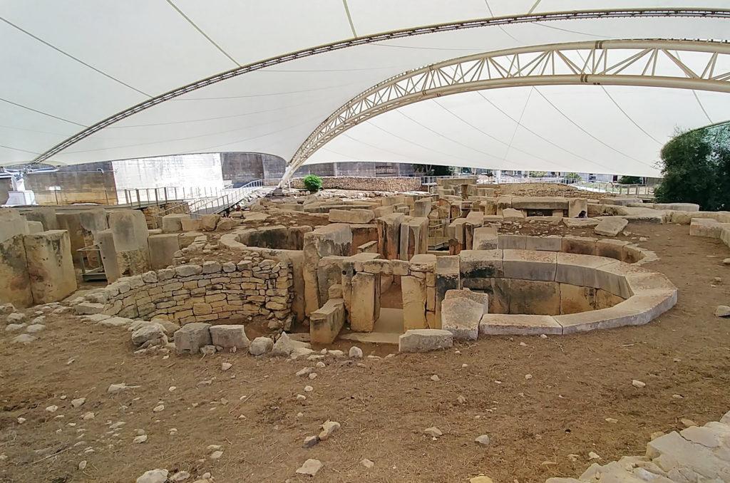Widok na całość stanowiska archeologicznego