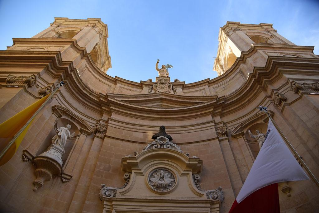 Valletta - Bazylika Matki Bożej Bezpiecznej Przystani i św Dominika