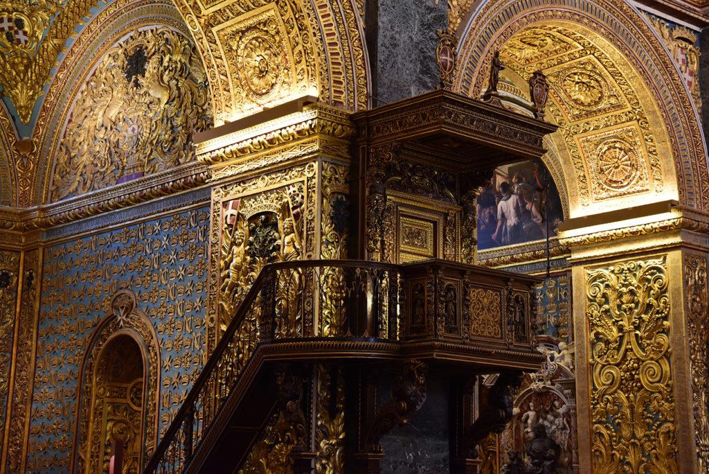 Katedra św. Jana - ambona