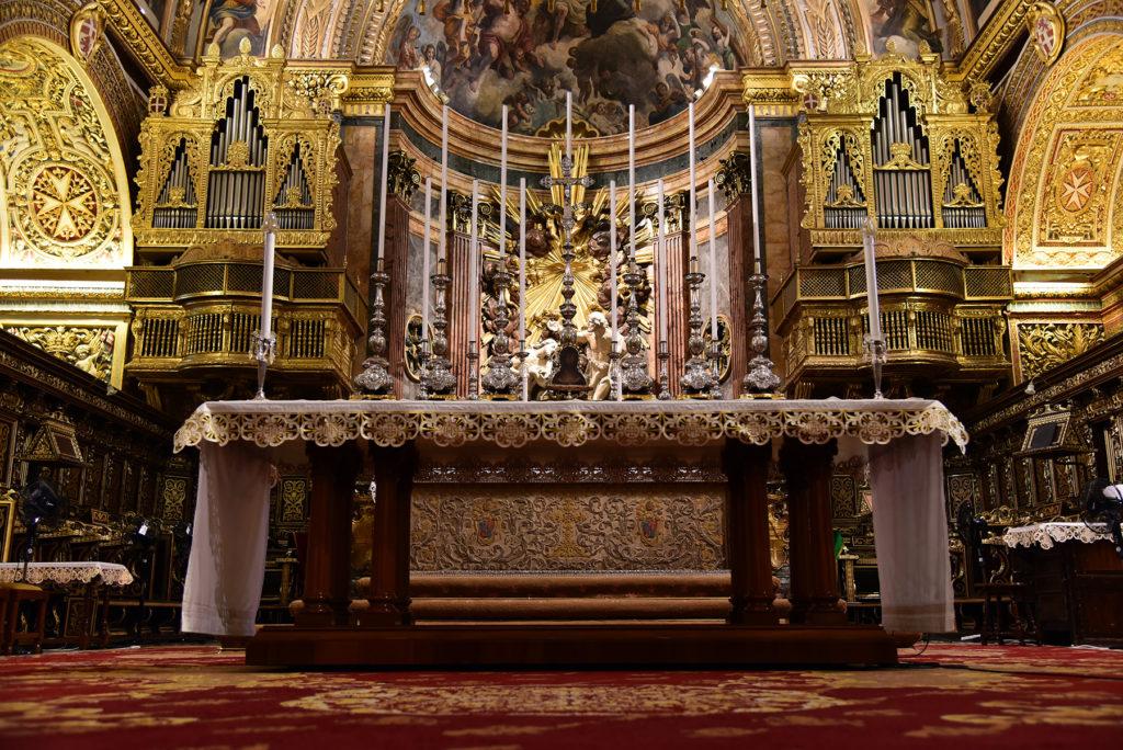 Katedra św. Jana - ołtarz główny