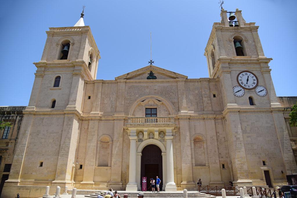 Katedra św. Jana - wejście główne dla wiernych