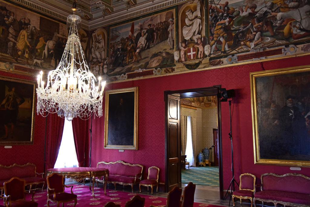 Pałac Wielkiego Mistrza - sala reprezentacyjna