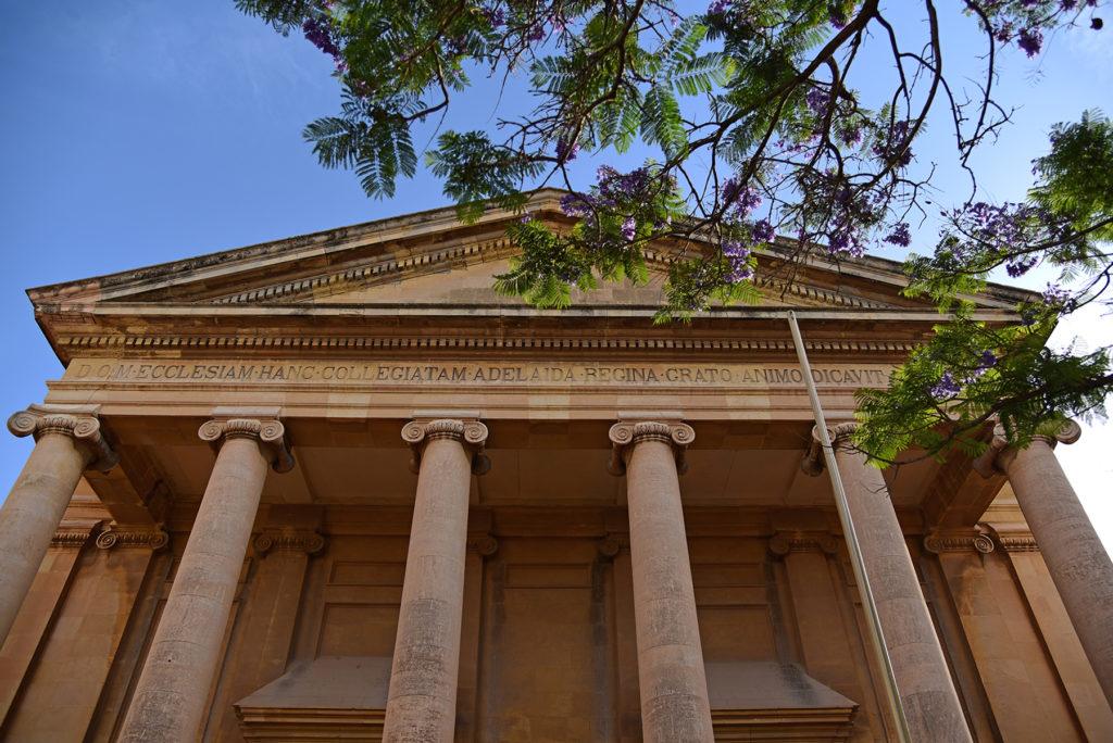 Prokatedra św. Pawła - wejście główne