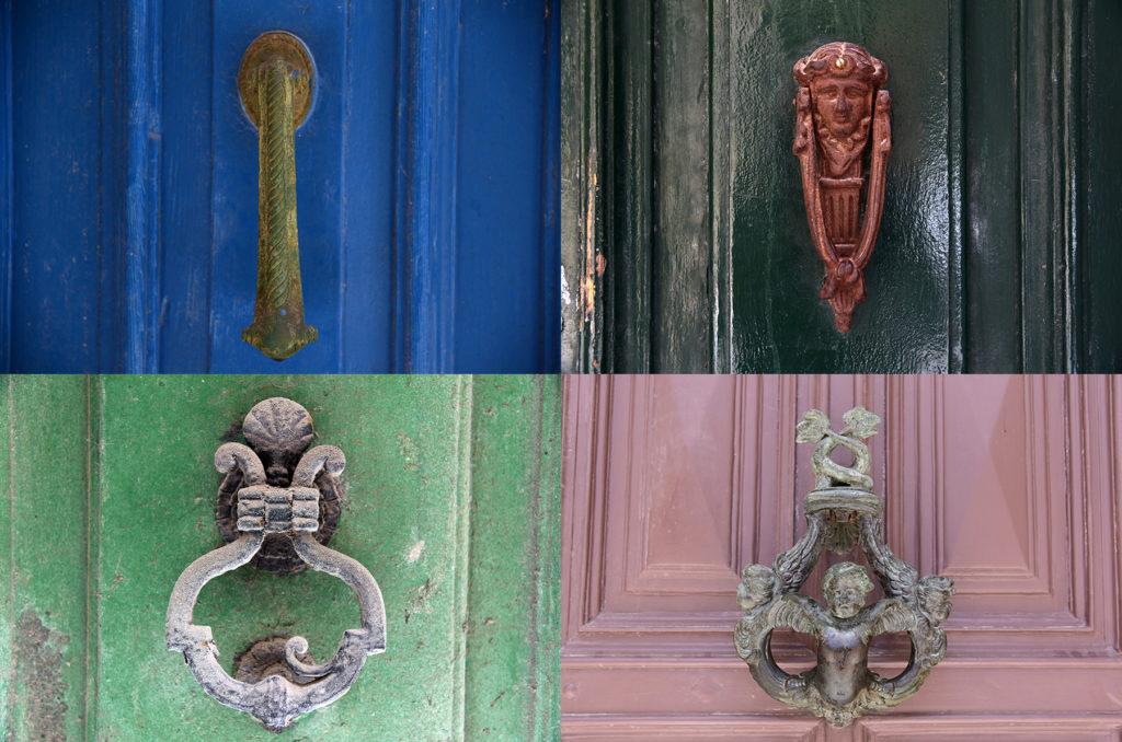 Klamki u drzwi - na drewnie