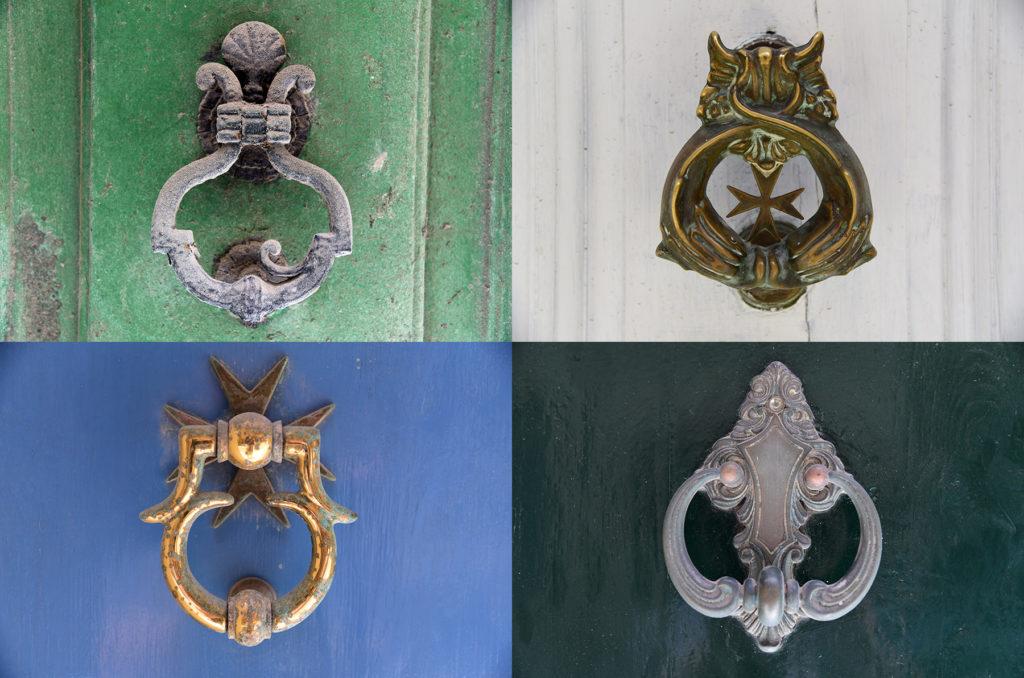 Klamki u drzwi - uchwyty