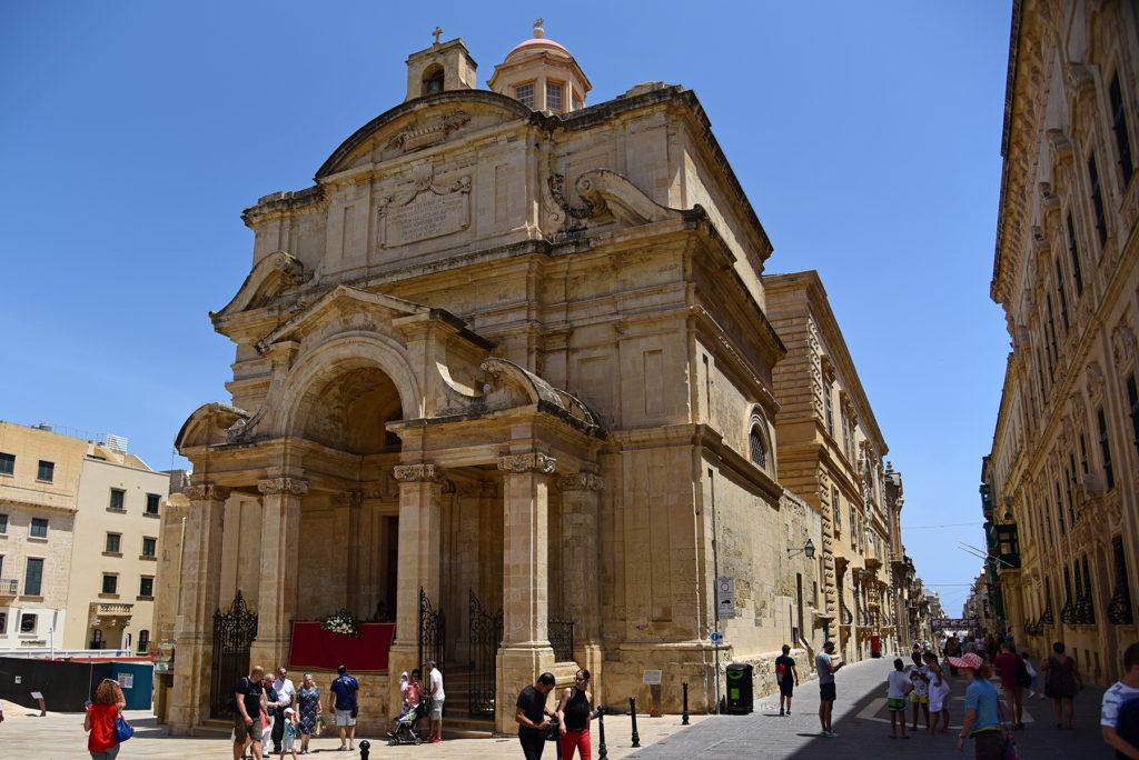 Valletta - kościół św. Katarzyny Aleksandryjskiej