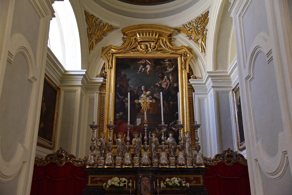 Valletta - kościół św. Katarzyny Aleksandryjskiej - ołtarz główny